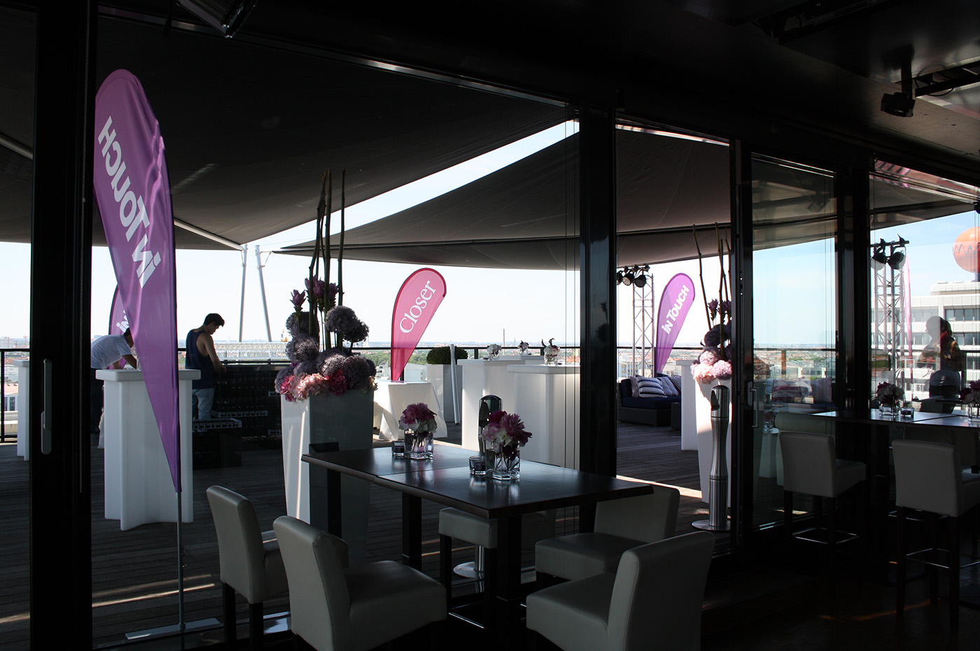 Level 10, Terrasse - Beachflags